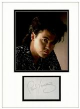 Paul Young Autograph Signed Display